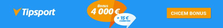 Bonus 4000 € + 15 € zadarmo